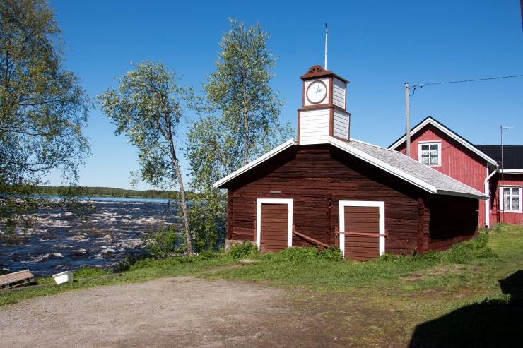 Kalapuohi. Suomen puoli