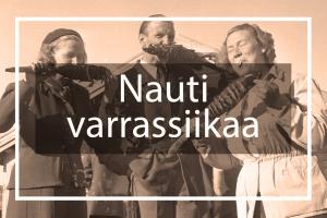 Landing page Nauti varrassiikaa