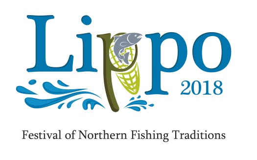 Lippo - Festival of Northern Fishing Traditions logo vertical wi